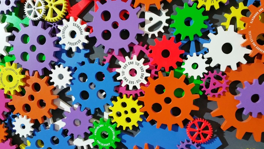 Colorful Gears Small