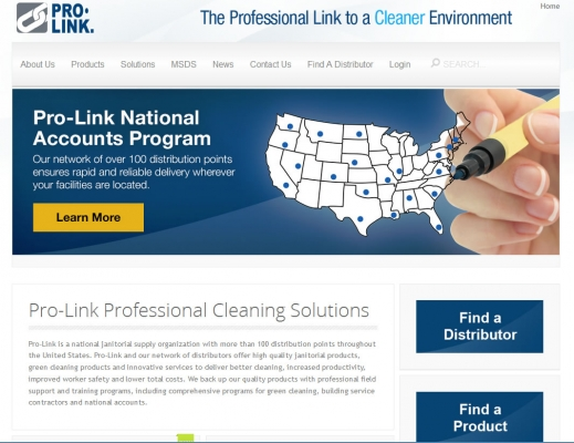 Prolink Home Page
