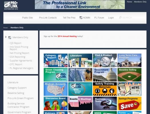Prolink Login Page