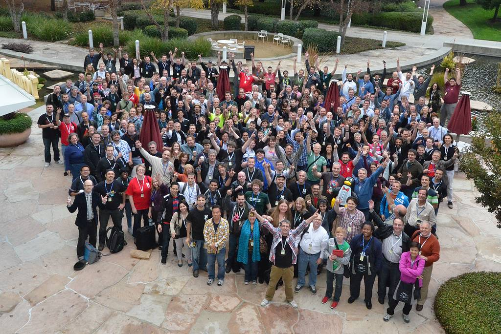 We were among 300 attendees of Joomla's first ever World Conference. Photo Courtesy of Joomla